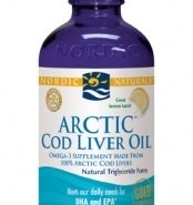 Arctic Cod Liver Oil - Lemon 8oz