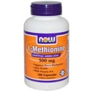 L-Methionine (500mg) - 100 capsules