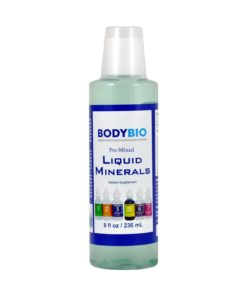Pre-Mixed Liquid Minerals - 8 fl oz. (236 ml)