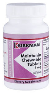 Melatonin Chewable Tablets - (1mg) 100 chewables