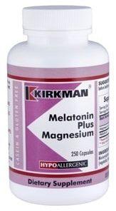 Melatonin Plus Magnesium - Hypoallergenic - 250 capsules