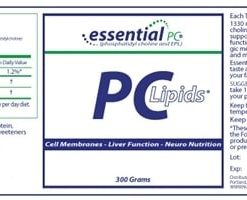 PC Lipids - 300 grams - INGREDIENTS