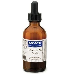 Vitamin D3 Liquid - 22.5 ml (0.75 fl oz)