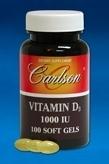Vitamin D 1000 IU - 100 Gelcaps