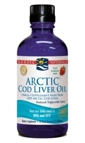 Arctic Cod Liver Oil - Strawberry 8oz