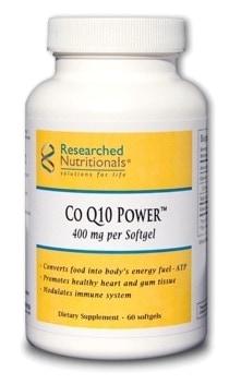 Co Q10 Power™ (400 mg softgel) - GMO-free/Soy-free