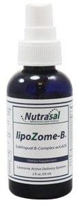 LipoZome B Complex Sublingual Liposome Spray - 2oz