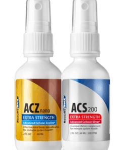 Total Body Detox 2oz System (ACS 200, ACZ Nano), 2 bottle set