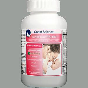 Coast Science® Fertile One® PC 600 - 180 capsules