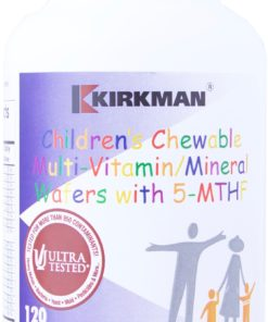 Children's Chewable Multi-Vitamin/Mineral Wafer with 5-MTHF - 120 chewable wafers